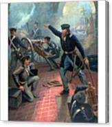 Grant At The Capture Of The City Of Mexico Canvas Print