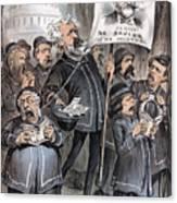 Grant Cartoon, 1880 Canvas Print