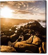 Granville Harbour Tasmania Sunrise Canvas Print