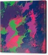 Grapefizz And Tanzanite Canvas Print