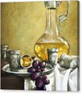 Grapes And Cristals Canvas Print