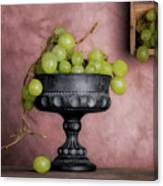 Grapes Centerpiece Canvas Print