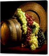 Grapes Of Wine Canvas Print