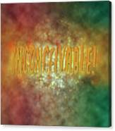 Graphic Display Of The Word Inconceivable Canvas Print
