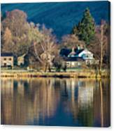 Grasmere Shoreline Canvas Print