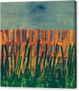 Grass Is Greener On The Other Side  Canvas Print