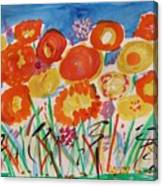 Grasses Can't Hide Canvas Print