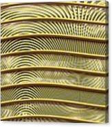 Grate Of Yellow Canvas Print