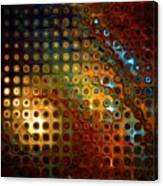 Grated Canvas Print