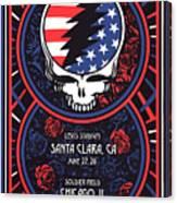 Grateful Dead Santa Clara Ca Canvas Print