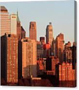 Gratte Ciel Manhattan Usa Canvas Print