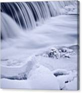 Graue Mills Falls Canvas Print