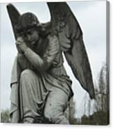Grave Angel Canvas Print