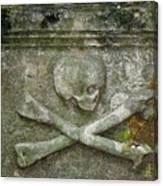 Grave Business 2 Canvas Print