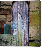 Grave Door Appleby Magna Canvas Print