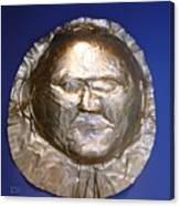 Grave Mask Canvas Print