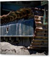 Gravel Pit Warrior Power Screen 03 Canvas Print