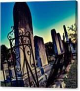 Gravesite Canvas Print