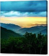 Gray Mountain Canvas Print