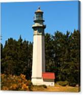 Grays Harbor Light Station Canvas Print