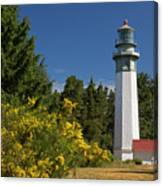 Grays Harbor Lighthouse H Canvas Print