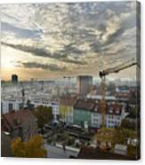 Graz At Work Canvas Print