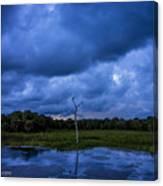 Grean Cay Storm 4 Canvas Print