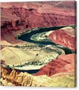 Great Color Colorado River Canvas Print