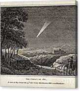 Great Comet Of 1811 Canvas Print