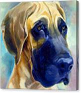 Great Dane Pup Canvas Print