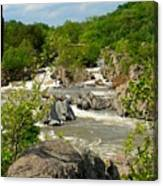Great Falls Canvas Print