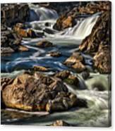 Great Falls Overlook #5 Canvas Print