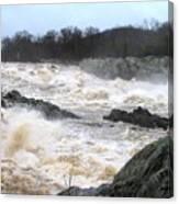 Great Falls Torrent Canvas Print