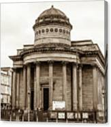 Great George Street Congregational Church Liverpool Canvas Print