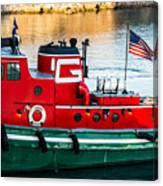 Great Lakes Towing Tug Florida Canvas Print