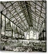 Great Market Hall Canvas Print