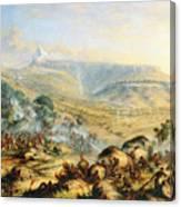 Great Peak Of The Amatola-british-kaffraria  Canvas Print
