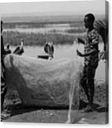 Great Rift Fishermen Canvas Print