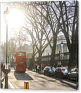 Great Russell St. In The Afternoon Canvas Print