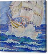 Great Sails.2006 Canvas Print