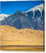Great Sand Dunes In Colorado Canvas Print