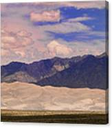 Great Sand Dunes Panorama 2 Canvas Print