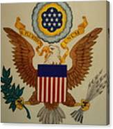 Great Seal Of The United States Of America Canvas Print