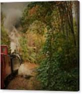 Great Smokey Mountain Railroad Canvas Print