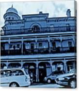 Great Western Perth Cyan Canvas Print