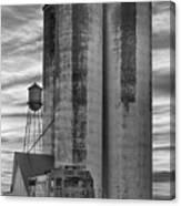 Great Western Sugar Mill Longmont Colorado Bw Canvas Print