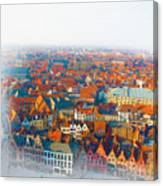 Greatest Small Cities In The World Canvas Print