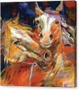 Grecos Horses Canvas Print