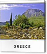Greece Canvas Print