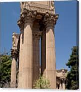Greek Architecture Canvas Print